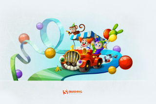 Circus - Obrázkek zdarma pro Desktop Netbook 1366x768 HD