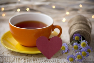 Tea Made With Love Picture for Android, iPhone and iPad