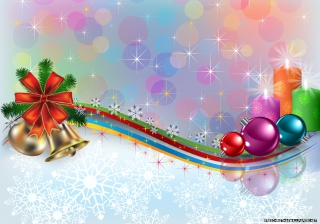 Christmas Ornaments Wallpaper for Android, iPhone and iPad