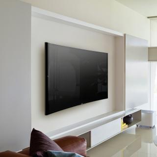 Sony Bravia S90 Curved 4K TV - Obrázkek zdarma pro iPad mini 2