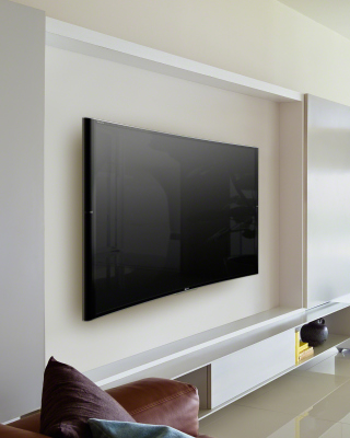 Sony Bravia S90 Curved 4K TV - Obrázkek zdarma pro 360x640