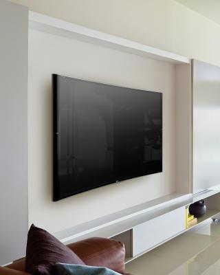 Sony Bravia S90 Curved 4K TV - Obrázkek zdarma pro iPhone 6 Plus
