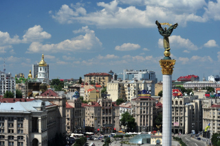 Ukraine, Kiev Background for Android, iPhone and iPad