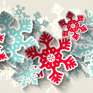 Snowflakes Decoration - Obrázkek zdarma pro 208x208
