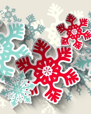 Snowflakes Decoration - Obrázkek zdarma pro Nokia Asha 305