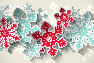 Snowflakes Decoration - Obrázkek zdarma pro Desktop Netbook 1024x600