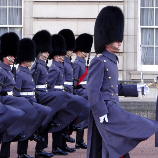Buckingham Palace Queens Guard - Obrázkek zdarma pro 128x128