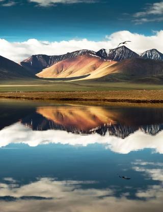 Mountain - Obrázkek zdarma pro iPhone 5C