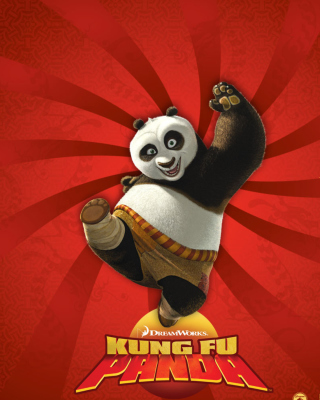 Kung Fu Panda - Obrázkek zdarma pro Nokia Asha 202