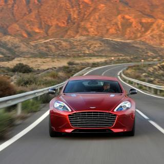 Aston Martin Rapide Grand Tourer - Obrázkek zdarma pro iPad Air