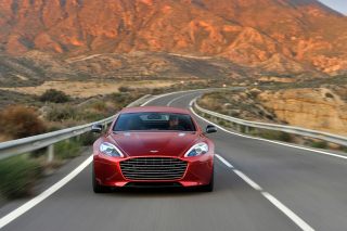 Aston Martin Rapide Grand Tourer - Obrázkek zdarma pro 480x360