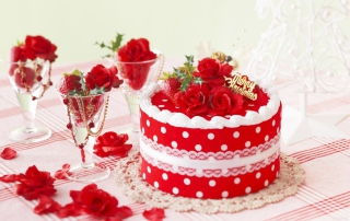 Delicious Sweet Cake Background for Android, iPhone and iPad