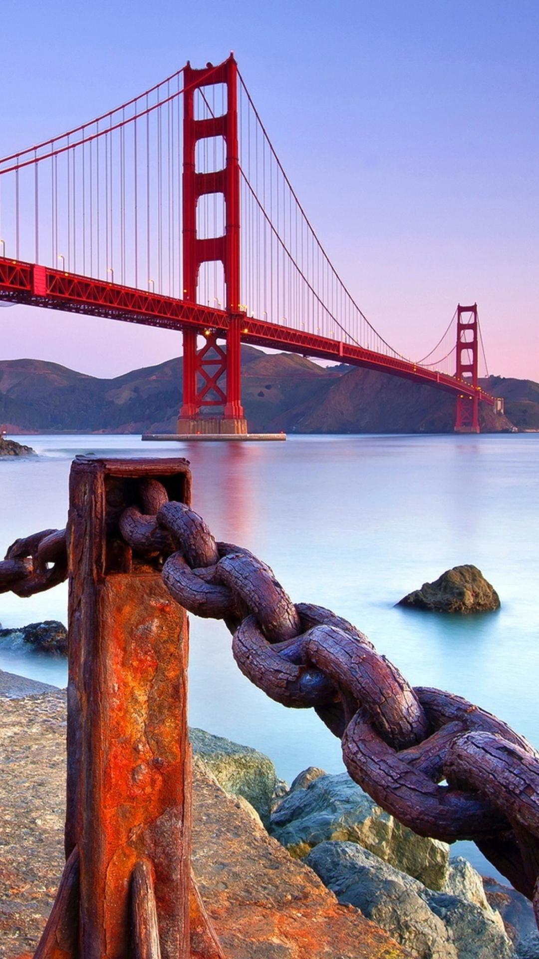 Golden gate bridge san francisco wallpaper for iphone 6 plus - San francisco iphone wallpaper ...