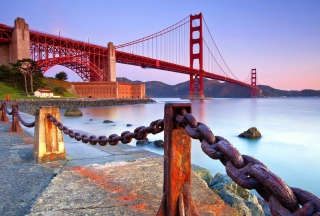 Golden Gate Bridge San Francisco Picture for Android, iPhone and iPad