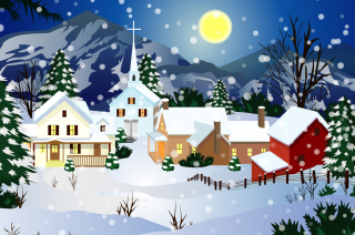 Christmas Wallpaper Wallpaper for Android, iPhone and iPad