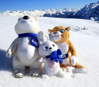 Winter Olympics Symbols - Obrázkek zdarma pro iPad