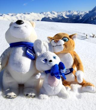 Winter Olympics Symbols - Obrázkek zdarma pro iPhone 4