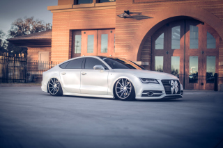 Audi A7 Vossen Tuning Picture for Android, iPhone and iPad