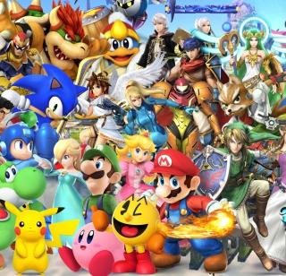 Super Smash Bros - Obrázkek zdarma pro 1024x1024