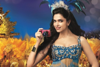 Free Deepika Padukone With Photo Camera Picture for Android, iPhone and iPad