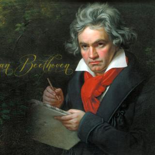 Ludwig Van Beethoven - Obrázkek zdarma pro iPad mini