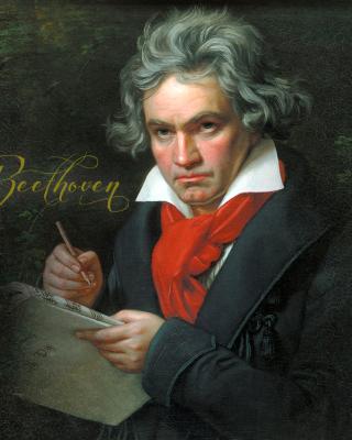 Ludwig Van Beethoven - Obrázkek zdarma pro Nokia C2-05