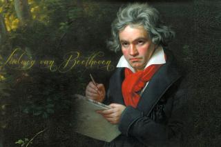 Ludwig Van Beethoven - Obrázkek zdarma pro Samsung Galaxy Tab 3 8.0
