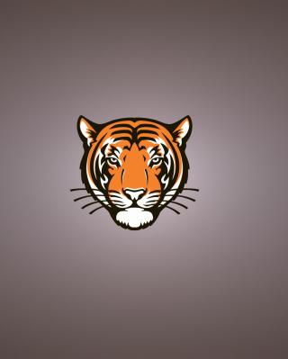 Tiger Muzzle Illustration - Obrázkek zdarma pro Nokia C-5 5MP