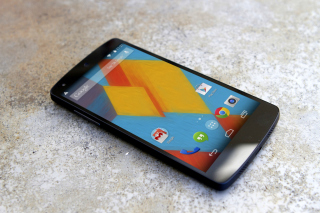 Google Nexus 5 Android 4 4 Kitkat - Obrázkek zdarma pro LG Optimus M