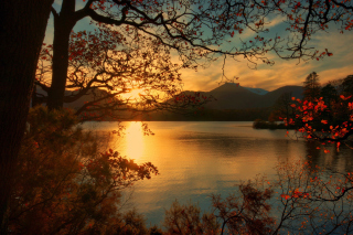 Peaceful Landscape Wallpaper for Android, iPhone and iPad