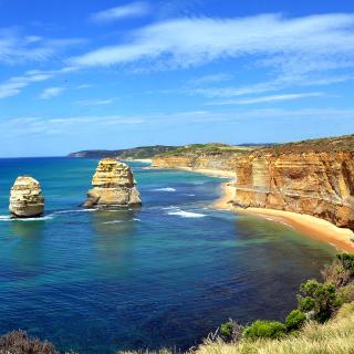 Excellent Ocean Landscape - Obrázkek zdarma pro iPad