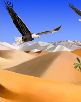 Desert Landscape - Obrázkek zdarma pro Nokia Lumia 820