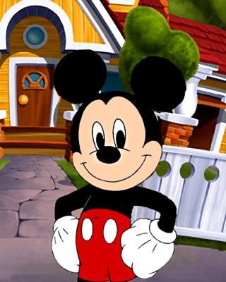 Mickey Mouse - Obrázkek zdarma pro Nokia C-Series