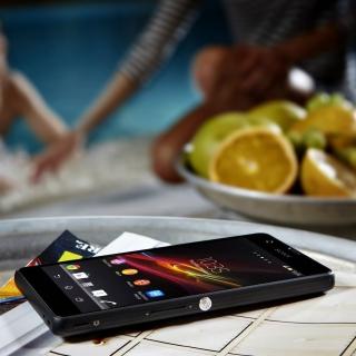 Sony Xperia ZR - Obrázkek zdarma pro iPad mini