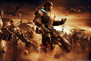 Gears Of War 2 Wallpaper for Android, iPhone and iPad