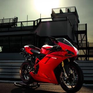 Bike Ducati 1198 - Obrázkek zdarma pro iPad mini 2