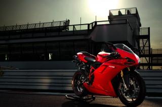 Bike Ducati 1198 - Obrázkek zdarma pro Nokia X2-01