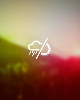 Rainy Or Sunny Weather - Obrázkek zdarma pro iPhone 5C