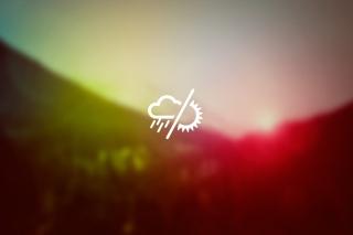 Rainy Or Sunny Weather - Obrázkek zdarma pro Samsung Galaxy S II 4G