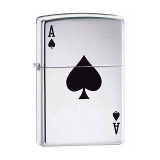 Zippo Ace Of Spades - Obrázkek zdarma pro iPad mini