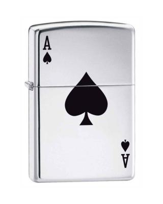 Zippo Ace Of Spades - Obrázkek zdarma pro Nokia Asha 308
