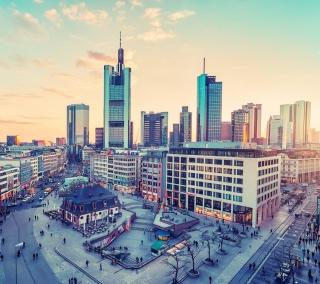 City in Germany - Obrázkek zdarma pro iPad 2