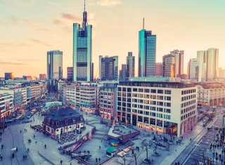 City in Germany Background for Android, iPhone and iPad