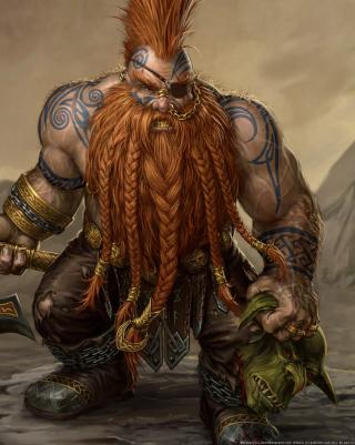 Dwarf Slayer - Obrázkek zdarma pro 768x1280