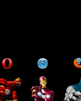 Browsers Chrome, Opera, Firefox, Safari - Obrázkek zdarma pro 320x480