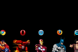 Browsers Chrome, Opera, Firefox, Safari Wallpaper for Android, iPhone and iPad