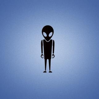 Alien - Obrázkek zdarma pro iPad 2