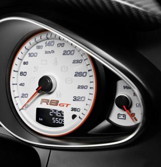 Audi R8 Gt Speedometer - Obrázkek zdarma pro 2048x2048