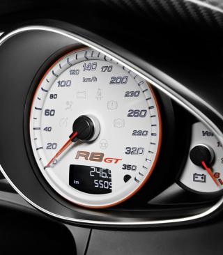 Audi R8 Gt Speedometer - Obrázkek zdarma pro 1080x1920