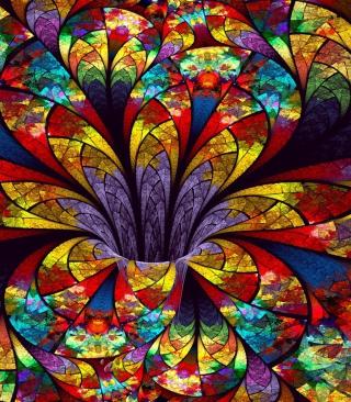 Fractal Flower - Obrázkek zdarma pro iPhone 5S